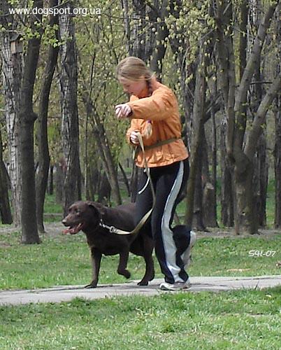 Кирилова Тетяна на старті