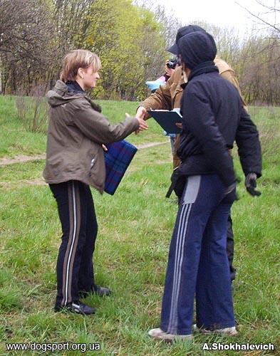 Київ. Переможець серед жінок - О. Полатайко