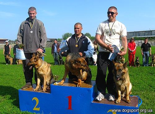 Переможці двоборства: 1 місце - Понизько Юрій, 2 місце - Ванжа Олександр, 3 місце - Козак Максим