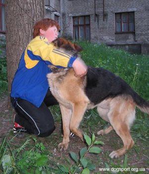 Юний учасник команди Старобільська Кабаненко Максим з Дауром